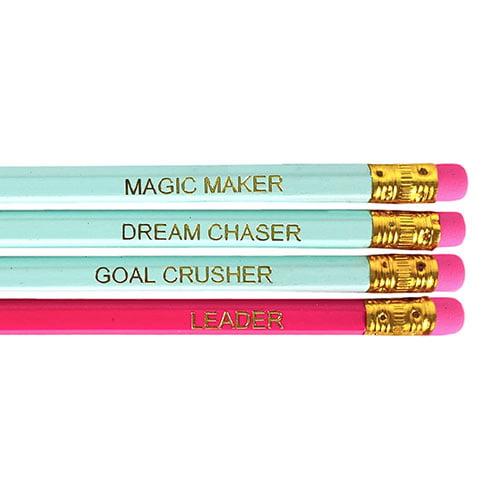 Zoey Koko Motivational Pencil Set