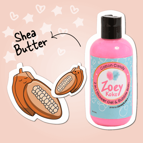 2-in-1 Shower Gel - Cotton Candy