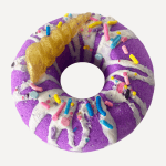 Bath Bomb - Purple Donut