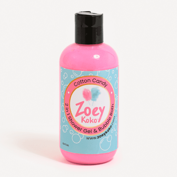 Light Pink 2-in-1 Shower Gel and Bubble Bath - Cotton Candy