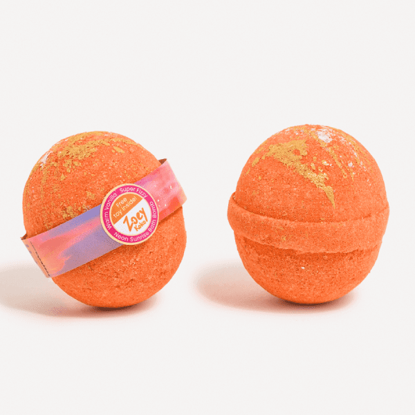 Orange Bath Bomb - Neon Sunrise