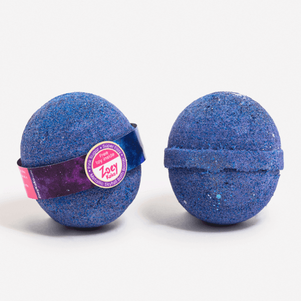 Dark Blue Bath Bomb - Metallic Skyfall