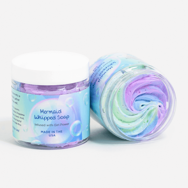 Swirl Mermaid Whipped Soap