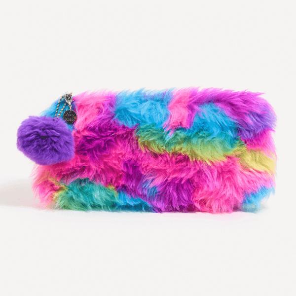 Multi-Colored Pencil Pouch
