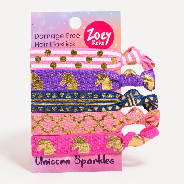 Hair Ties - Unicorn